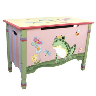 Teamson Magic Garden Toy Chest