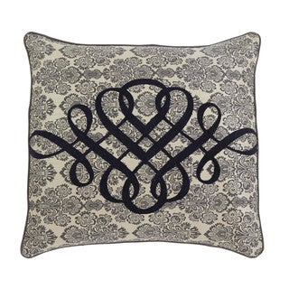 Signature Design by Ashley Stitched Grey 18-inch Pillow Cover