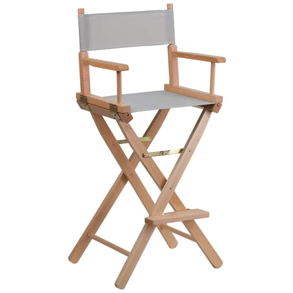 Incredible Shop Bar Height Folding Directors Chair Free Shipping Onthecornerstone Fun Painted Chair Ideas Images Onthecornerstoneorg