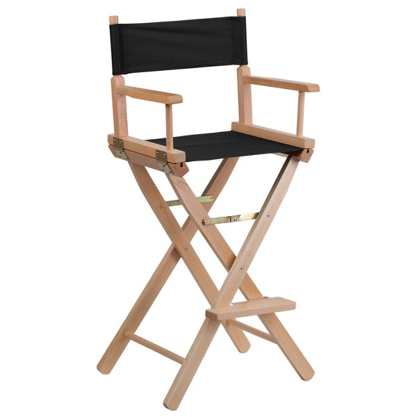 Shop Bar Height Folding Directors Chair Free Shipping