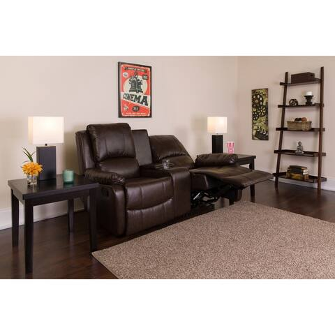 """2-seat Home Theater Recliner - 63""""W x 35"""" - 66""""D x 40""""H"""