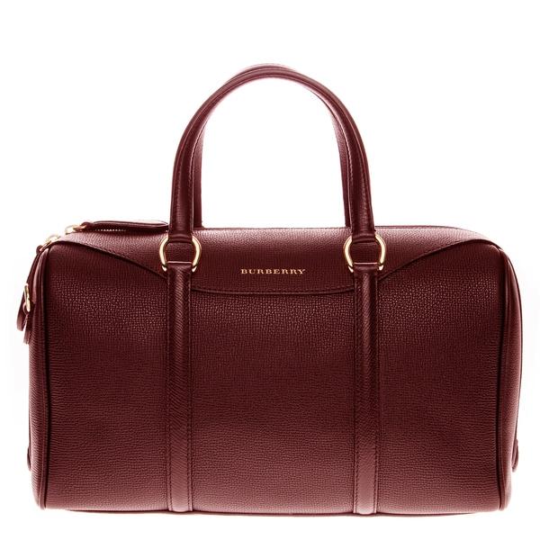 Shop Burberry Medium Alchester Grainy Leather Handbag - Free ... 07be134472419