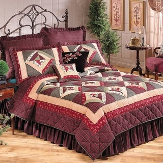 High Country Patchwork Cotton Quilt (Shams Not Included)