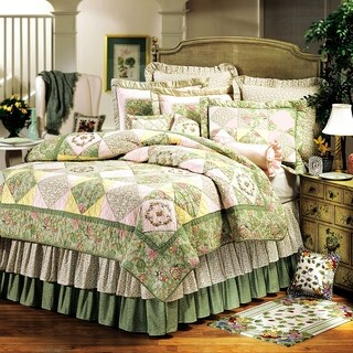 Ashleigh Full/Queen Cotton Quilt (Shams Not Included)