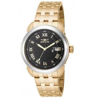 Invicta Men's Goldplated Steel INV5785 16184 Specialty Black Dial Bracelet Date Watch