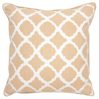 Colette Camel 22-inch Throw Pillow