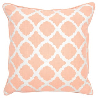 Colette Blush 22-inch Throw Pillow