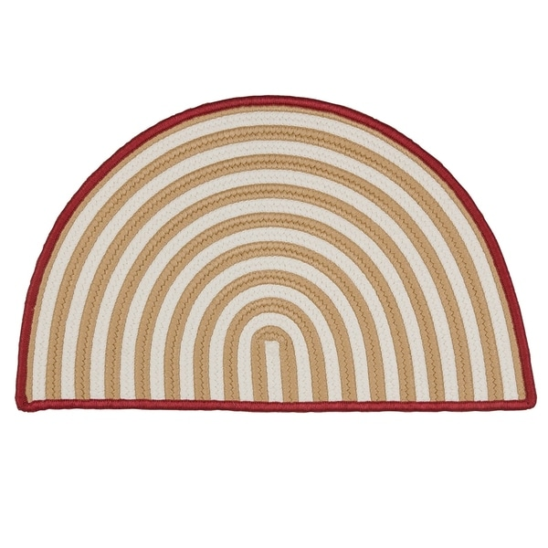 Holiday Hearth Slice Rug (2' x 3') - 1'6 x 2'6. Opens flyout.