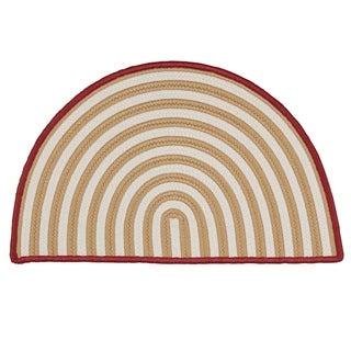 Holiday Hearth Slice Rug (2' x 3')