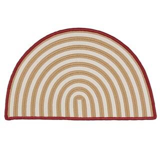 Holiday Hearth Slice Rug - 1'6 x 2'6