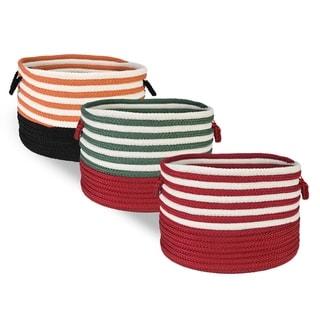 Swirl Braided Storage Basket