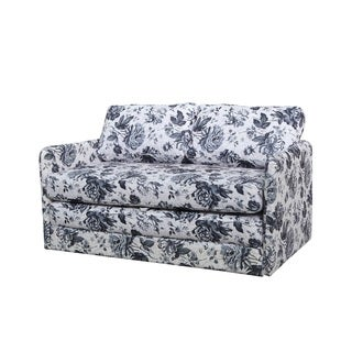 Kathy Reversible Flower Loveseat and Sofa Bed