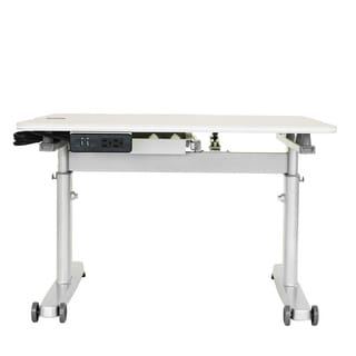 Kid's Ergonomic Sit to Stand Desk with USB Port