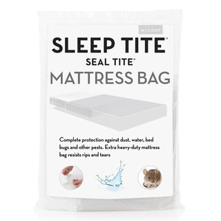 Link to Seal Tite Heavy-Duty Sealable Mattress Storage Bag Similar Items in Mattress Pads & Toppers