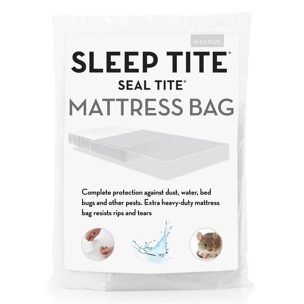 Seal Tite Heavy-Duty Sealable Mattress Storage Bag