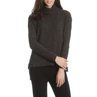Chelsea & Theodore Women's Marled Knit Turtleneck