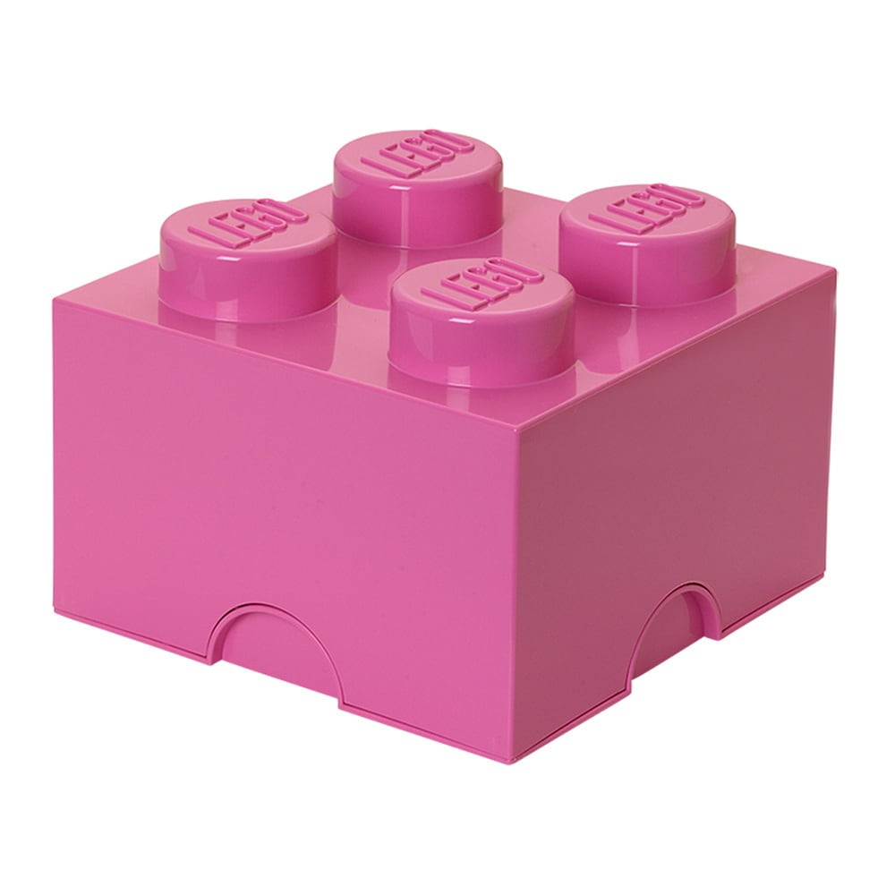 Lego Friends Storage Brick 4 Bright Purple/ Medium Pink (...