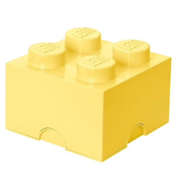 LEGO Cool Yellow Storage Brick 4