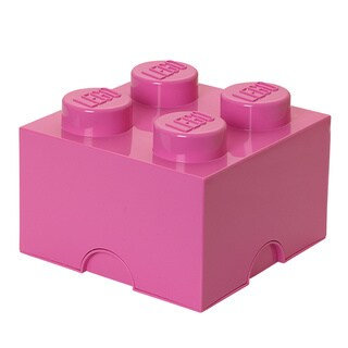 LEGO Bright Pink Storage Brick 4