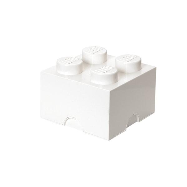 LEGO White Storage Brick 4