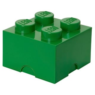 LEGO Dark Green Storage Brick 4