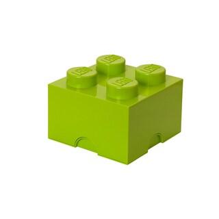 LEGO Lime Green Storage Brick 4