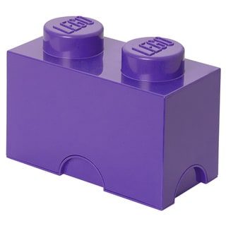LEGO Friends Medium Lilac Storage Brick 2