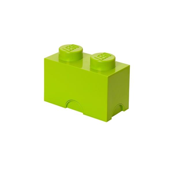 LEGO Lime Green Storage Brick 2