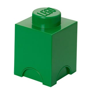 LEGO Dark Green Storage Brick 1