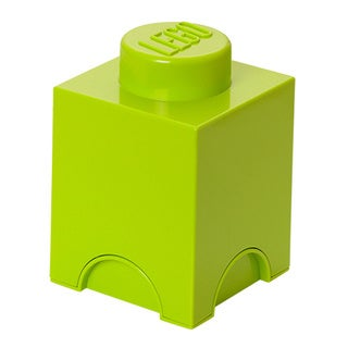 LEGO Lime Green Storage Brick 1