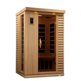Golden Designs 2-person Limited Edition Puretech Ultra Low EMF Infrared Sauna GDI-6273-01