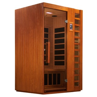 Golden Designs 2-person Limited Edition Puretech Ultra Low EMF Infrared Sauna GDI-6264-01