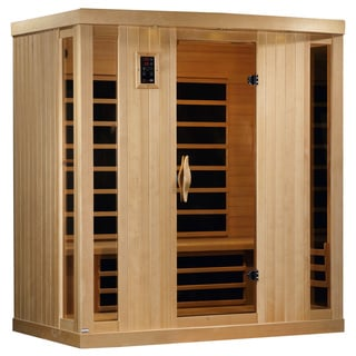 Golden Designs 4-person Limited Edition Puretech Ultra Low EMF Infrared Sauna GDI-6454-01