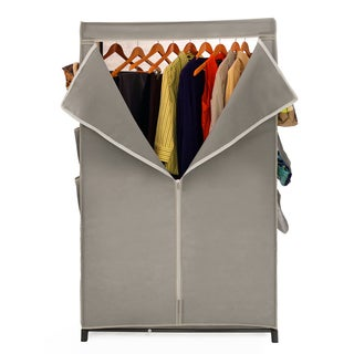 Seville Classics Wardrobe Organizer with Cover