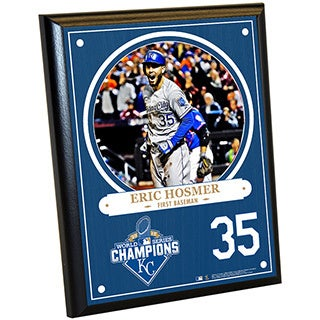 Kansas City Royals 2015 World Series Champions Eric Hosmer 8x10 Plaque