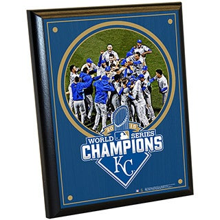 Kansas City Royals 2015 World Series Champions 8x10 Plaque