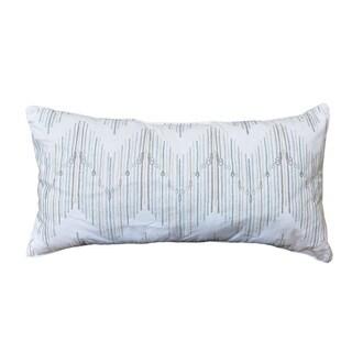Shell Rummel Embroidered Chevron Breakfast Decorative Pillow