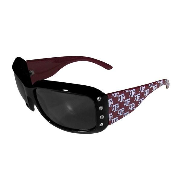 NCAA Texas A&M Aggies Womens Designer Bling Sunglasses