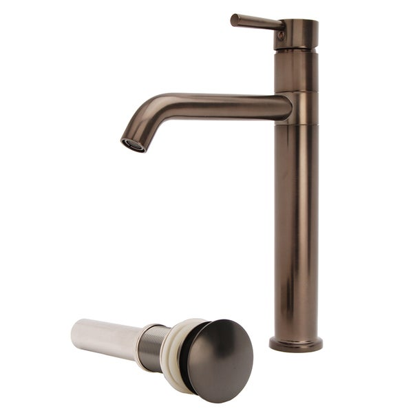 Shop Lsh Oil Rubbed Bronze European Swivel Arm Vessel Sink