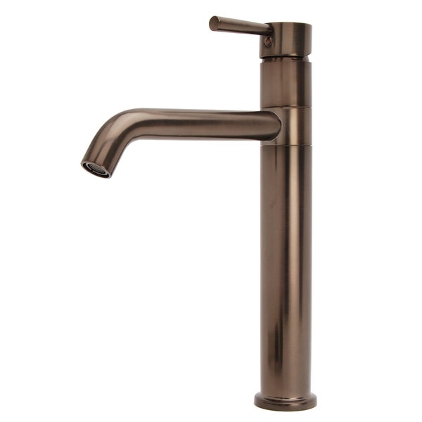 Lsh Oil Rubbed Bronze European Swivel Arm Vessel Sink Faucet