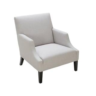 Sunpan '5West' Miranda Silver Linen Fabric Arm Chair