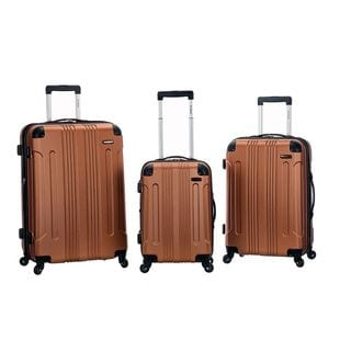 Rockland 3-piece Lightweight Expandable Hardside  Spinner Upright Luggage Set