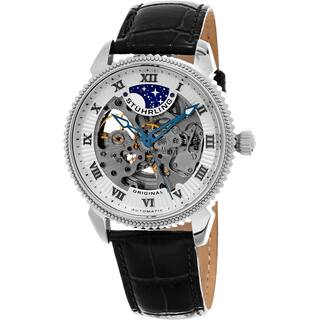 Stuhrling Original Men's Automatic Special Reserve Leather Strap Watch|https://ak1.ostkcdn.com/images/products/10756467/P17809999.jpg?impolicy=medium