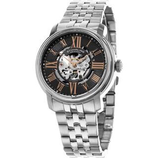 Stuhrling Original Men's Automatic Atrium Stainless Steel Bracelet Watch