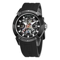Stuhrling Original Men's Automatic Legacy Rubber Strap Watch