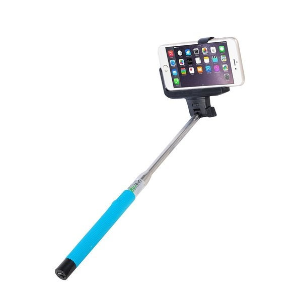 gotech original bluetooth blue selfie stick free shipping on orders over 45. Black Bedroom Furniture Sets. Home Design Ideas