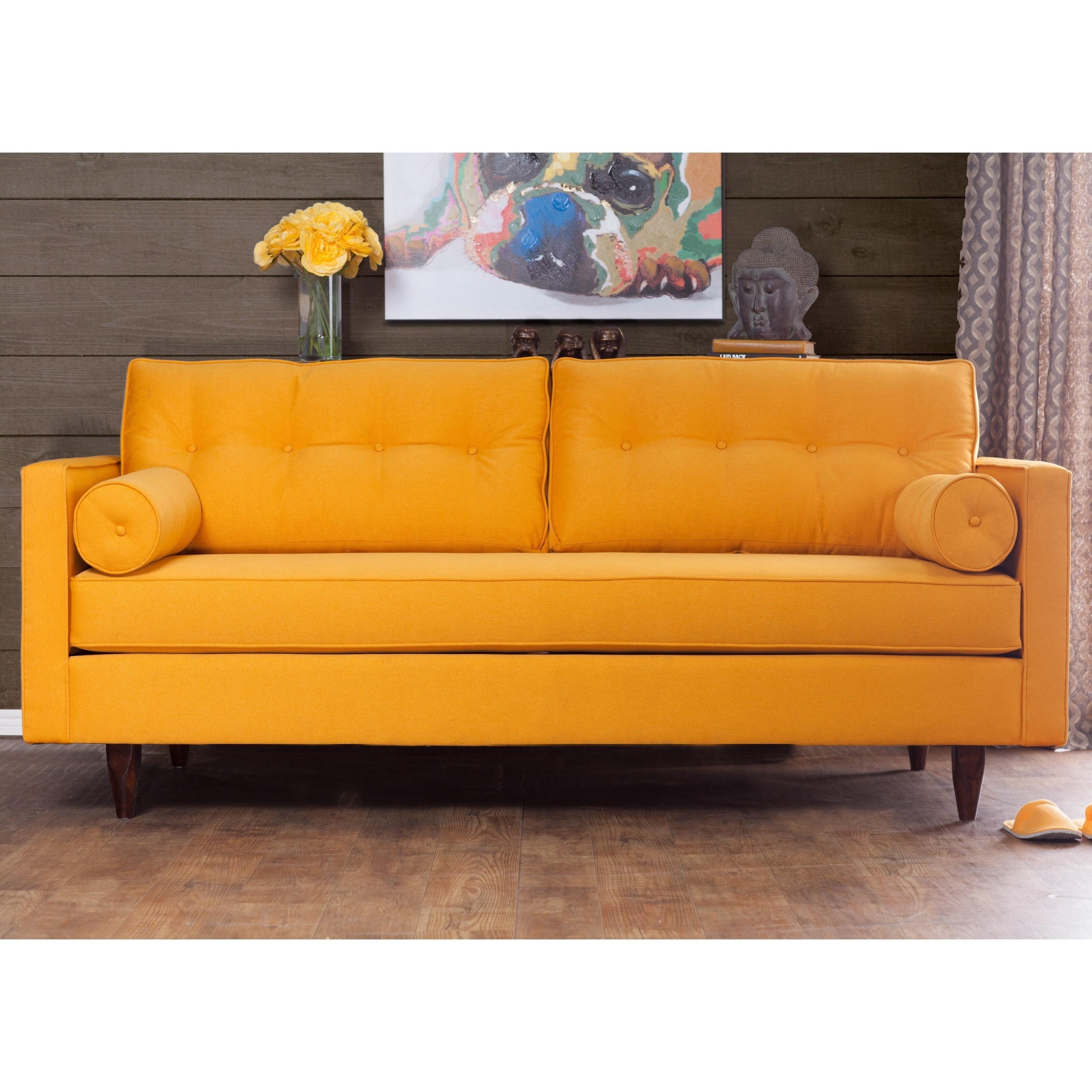 Furniture of America Kalinda Modern Mid-Century Sunshine ...