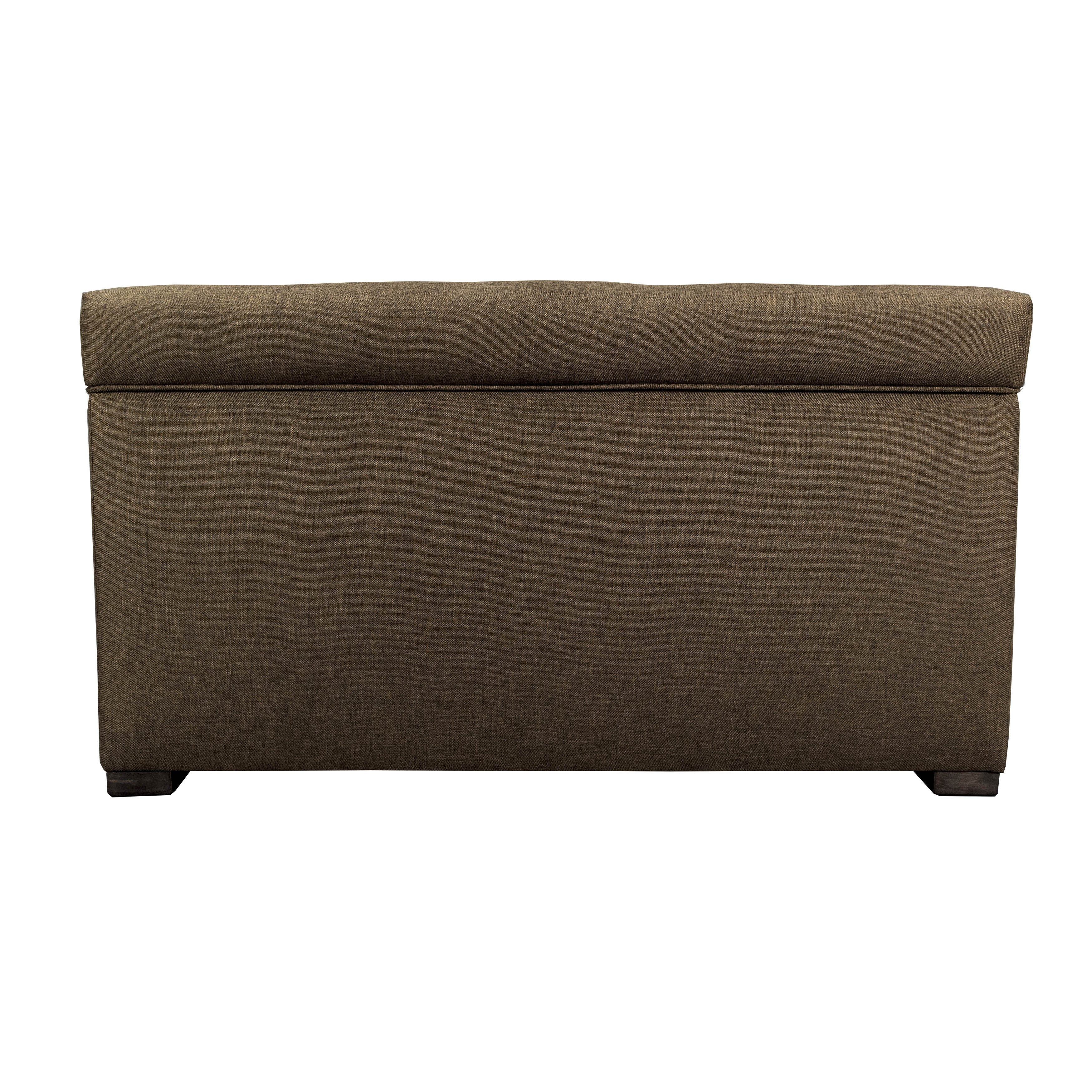 Angela 8-button Tufted Sand Storage Trunk Bench (Brown) (...
