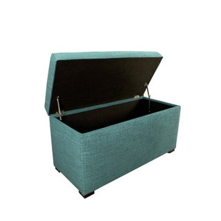 Angela 8 Button Tufted Lucky Storage Trunk - Bench