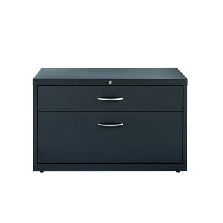 36-inch Charcoal Lateral File Box